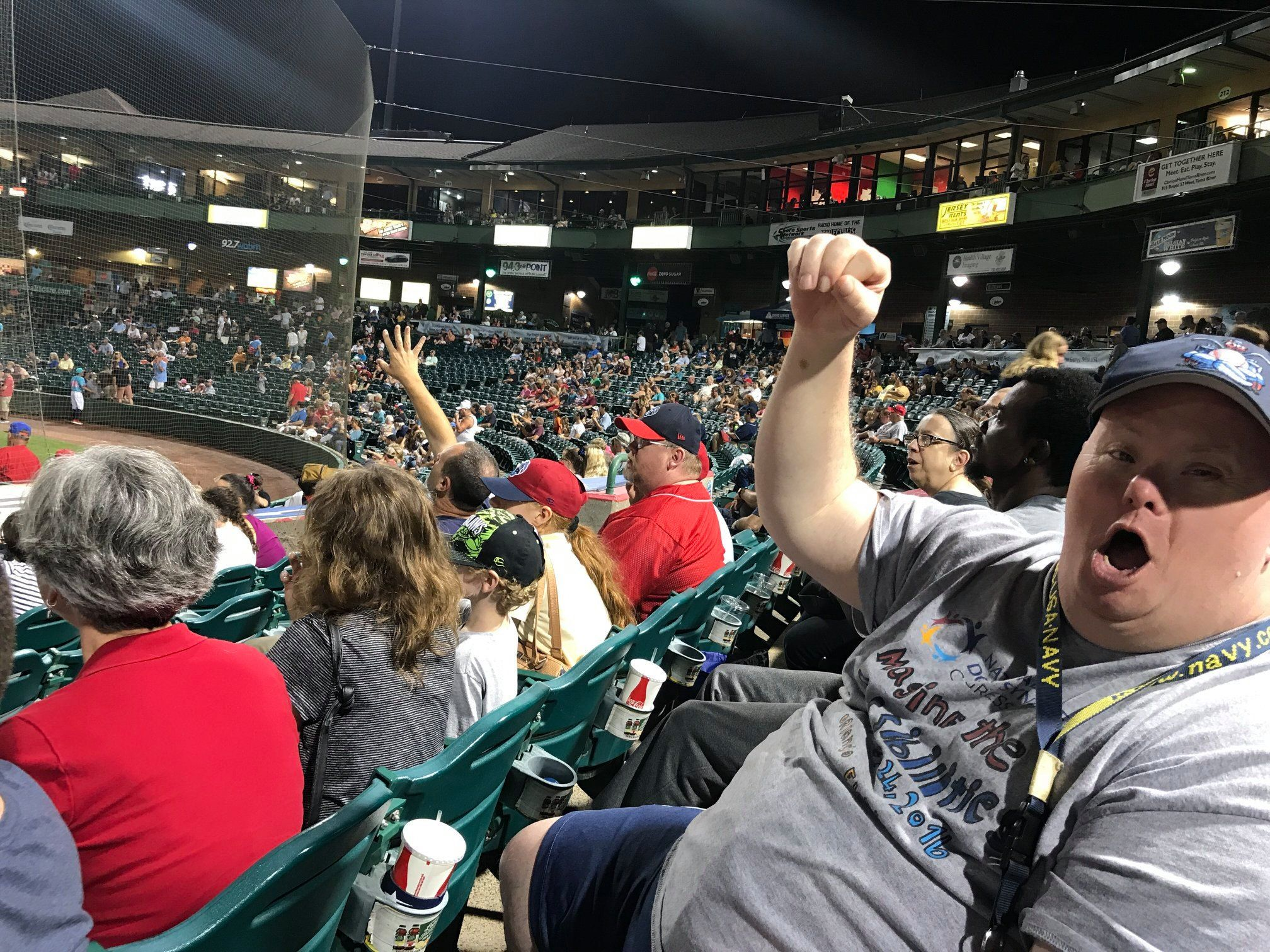 Lakewood Blueclaws 8/2019
