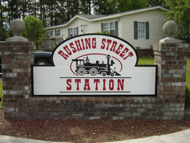 Rushing Street Station