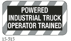 Powered Industrial Truck Operator Trained