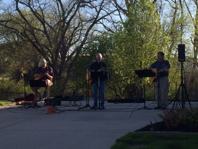 "Vintage Trio ""Drive By"" Concert at 88th and Cuthills"