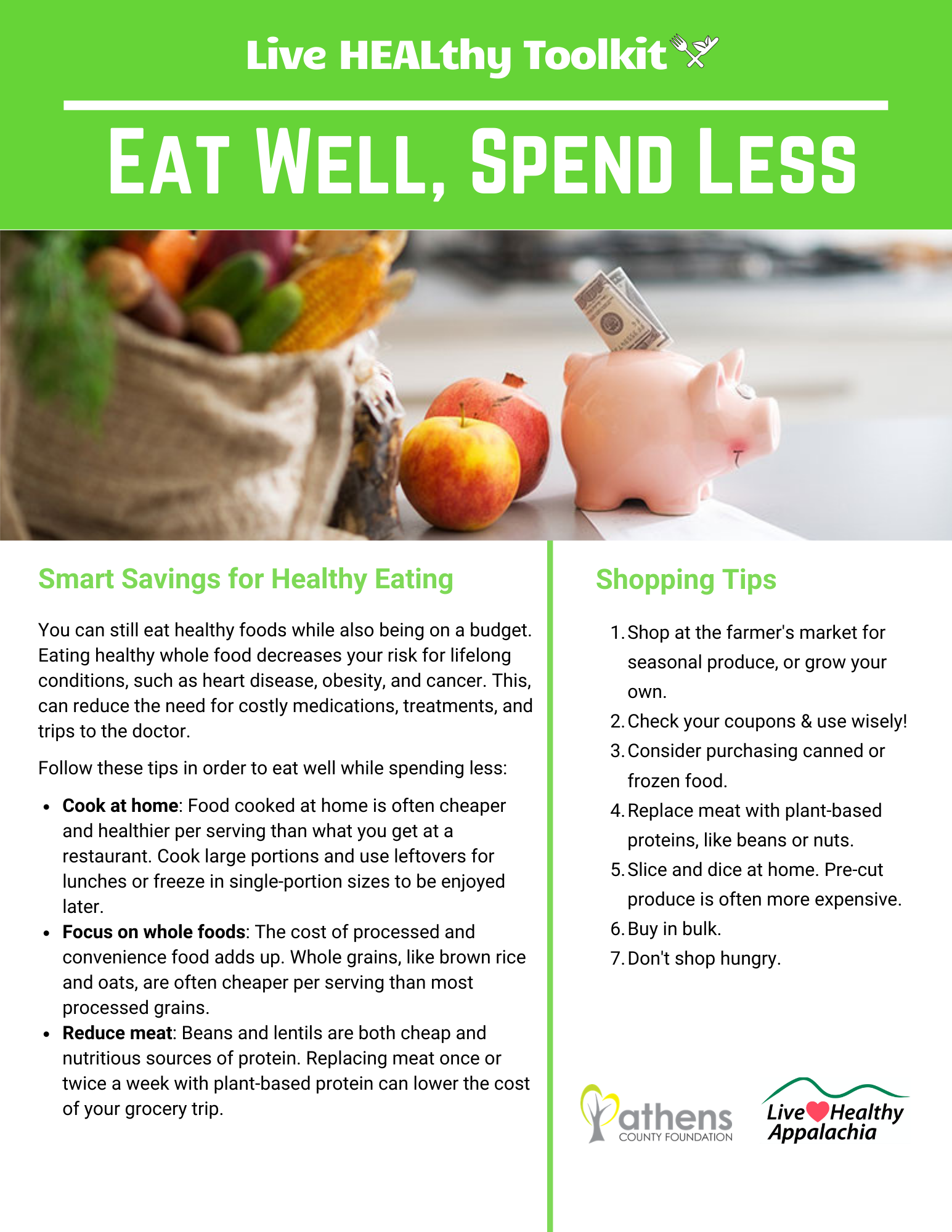 Eat Well, Spend Less