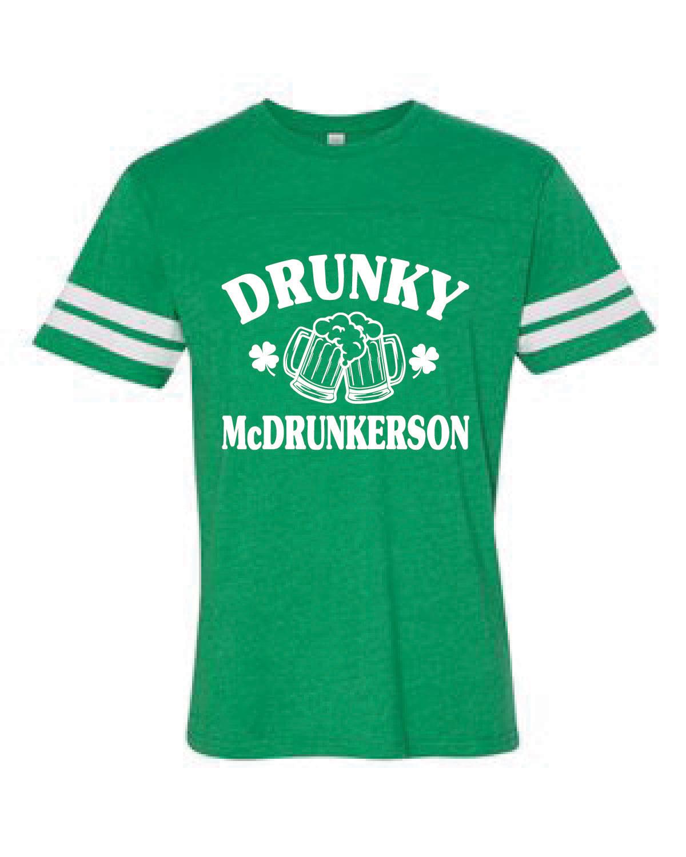 Football Style Jersey Tee (McDRUNKERSON)