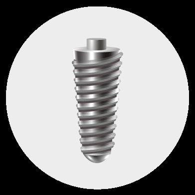 Step 1: Implant