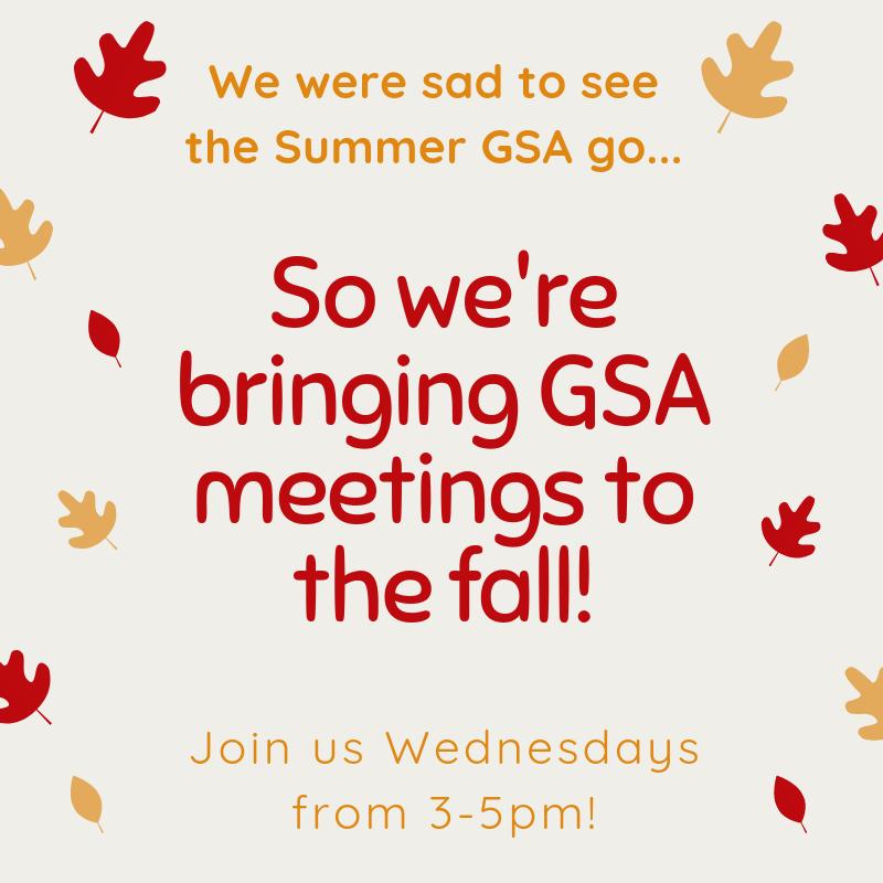 Fall GSA