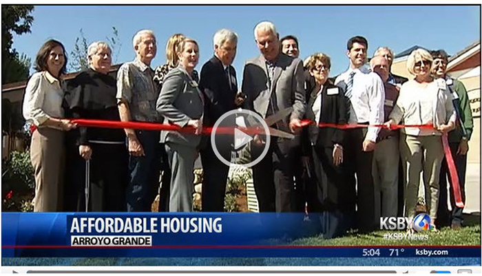 Ribbon cut on new affordable housing in Arroyo Grande - KSBY