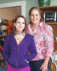 Kira & Jeannine, Former CASA Youth & Advocate