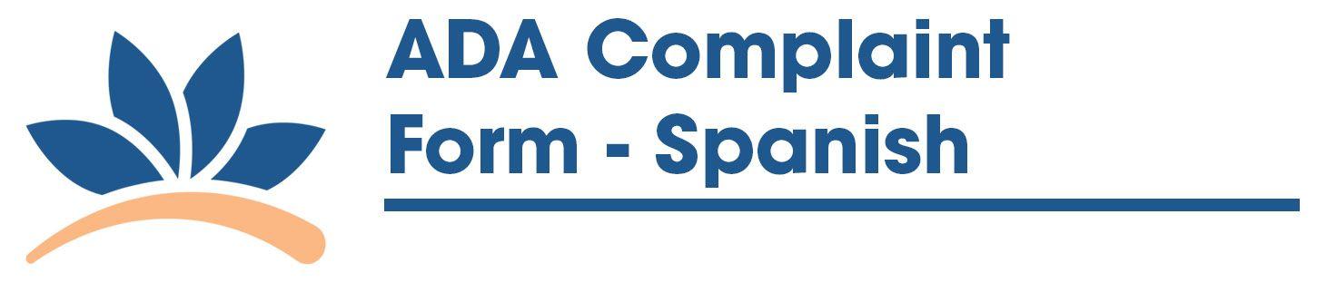 ADA Complaint Form - Spanish