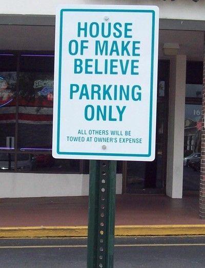 Parking Sign 4