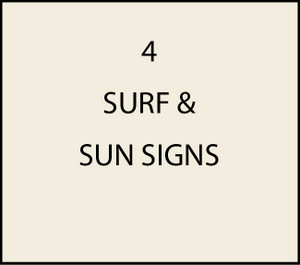 L21160 - Surf and Sun Signs