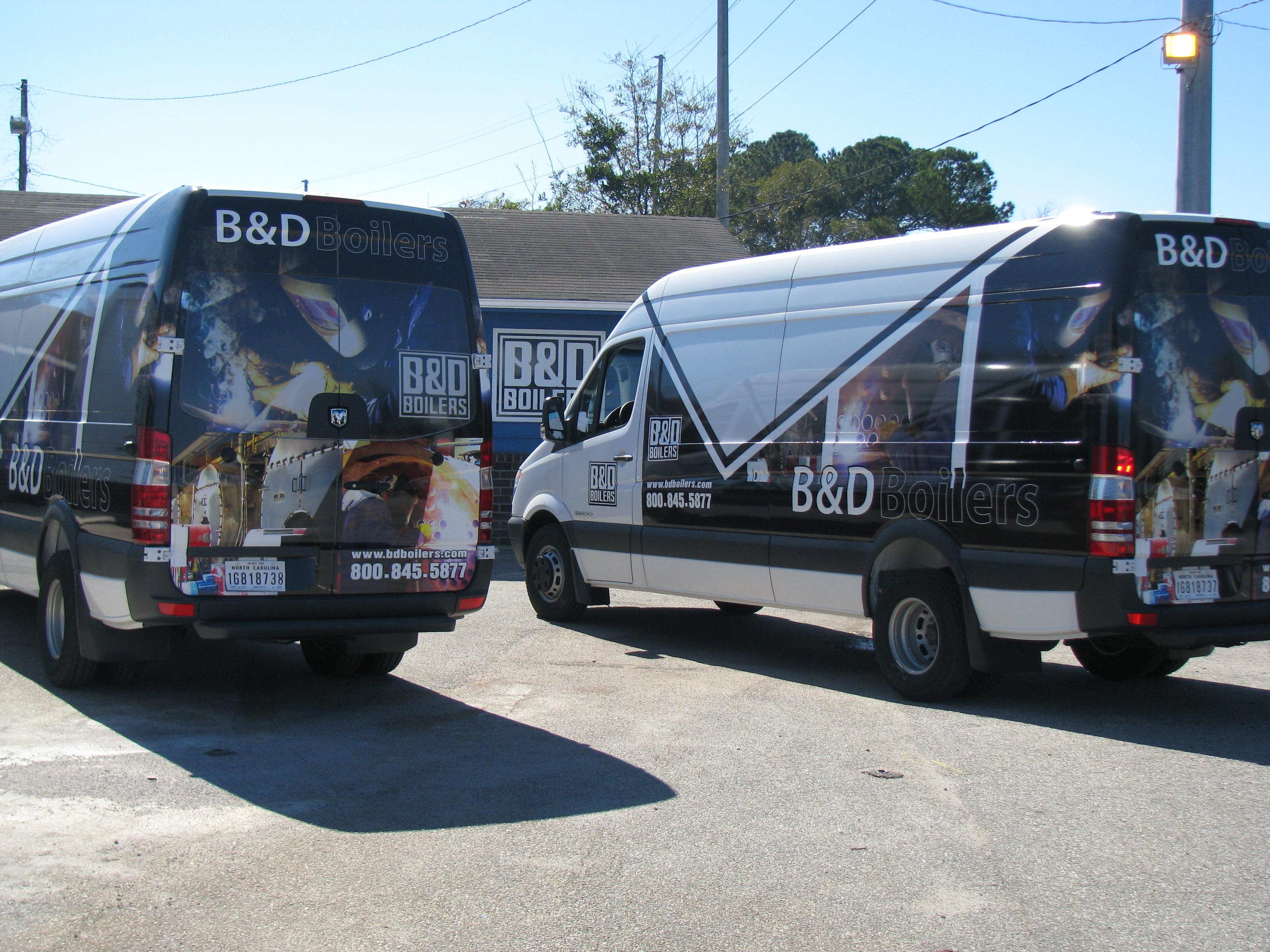 B&D Boilers Sprinter Vans