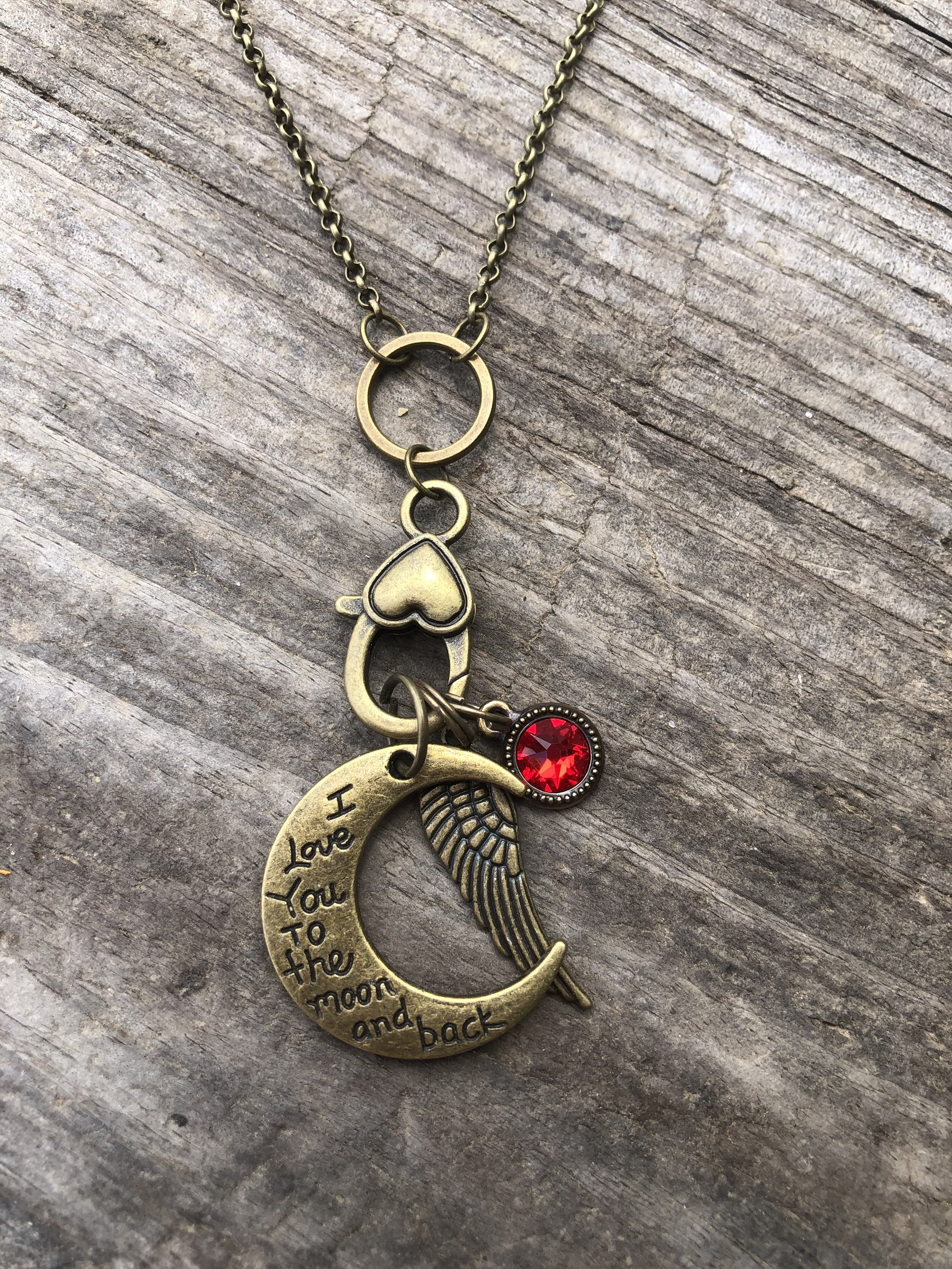 To the Moon and Back Necklace