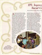 EFL Improves Children's Social Competence