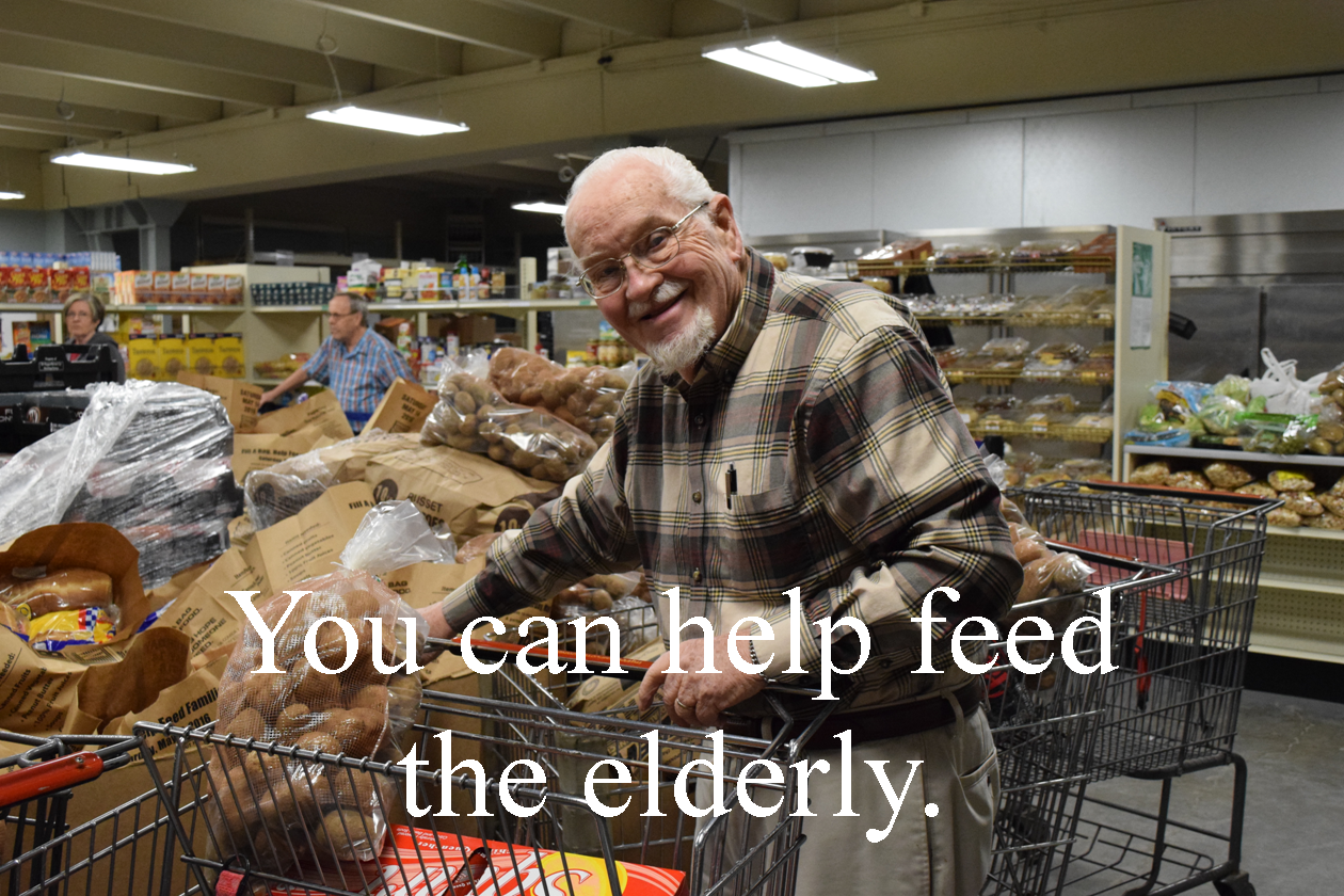 Help Feed the Elderly