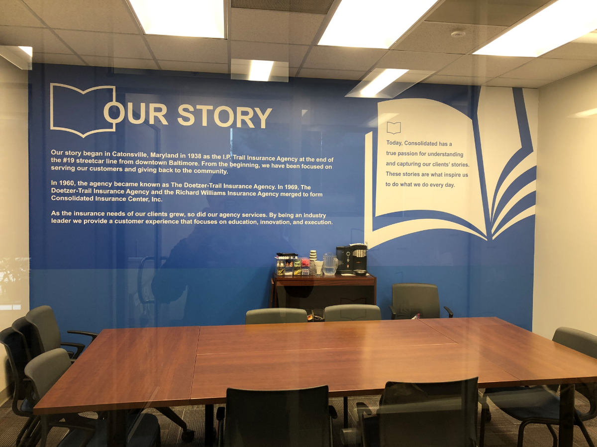 Branded Spaces: Use Your Walls To Tell Your Company's Story!