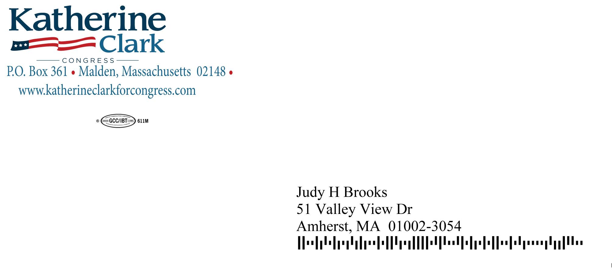 Mailing 2 Envelope