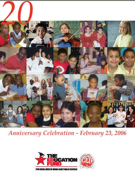 The Education Fund 20th Anniversary Program