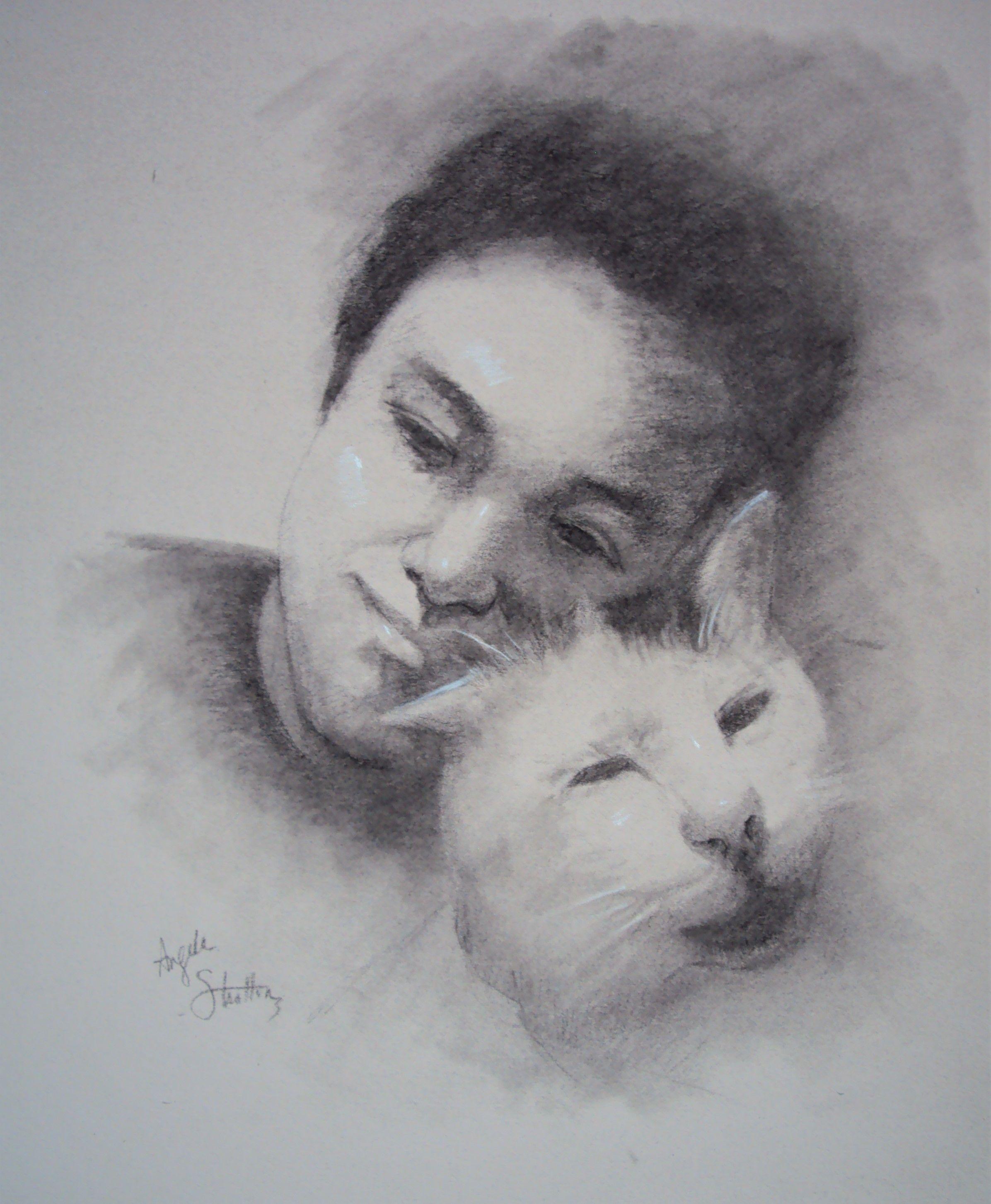 Artist: Angela Stratton, Carbon Pencil
