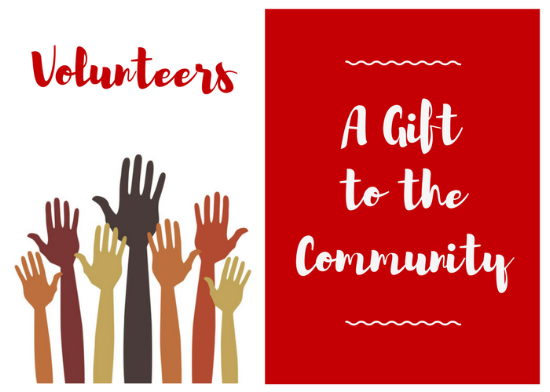 Volunteering A Gift to the Community
