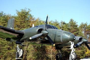RU-8D Seminole at National Vigilance Park (National Cryptologic Museum)