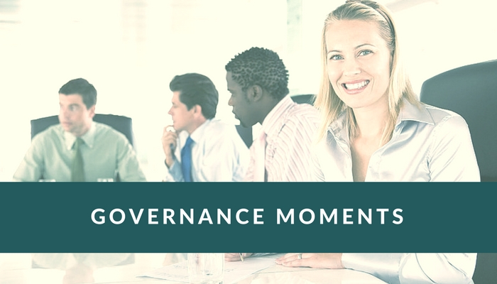 3 Simple Ways to Introduce Governance Moments at Your Board Meetings