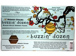 Buzzin' Dozen Honey Sticks (2 Flavors)
