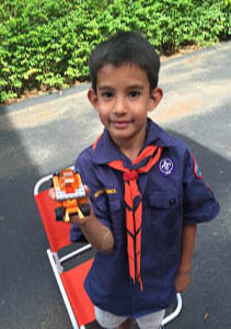 Saturday, July 30: Children with Disabilities Invited to Free Lego Event with Area Cub Scouts