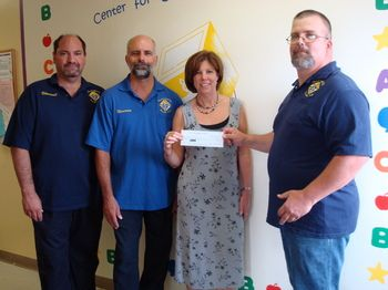 Arc receives continued support from the Manville Knights of Columbus