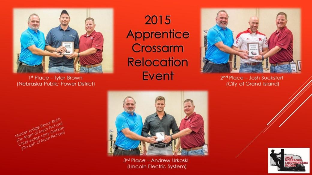 2015 Apprentice Crossarm Relocation