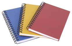 notebooks produced in Owings Mills, Maryland.