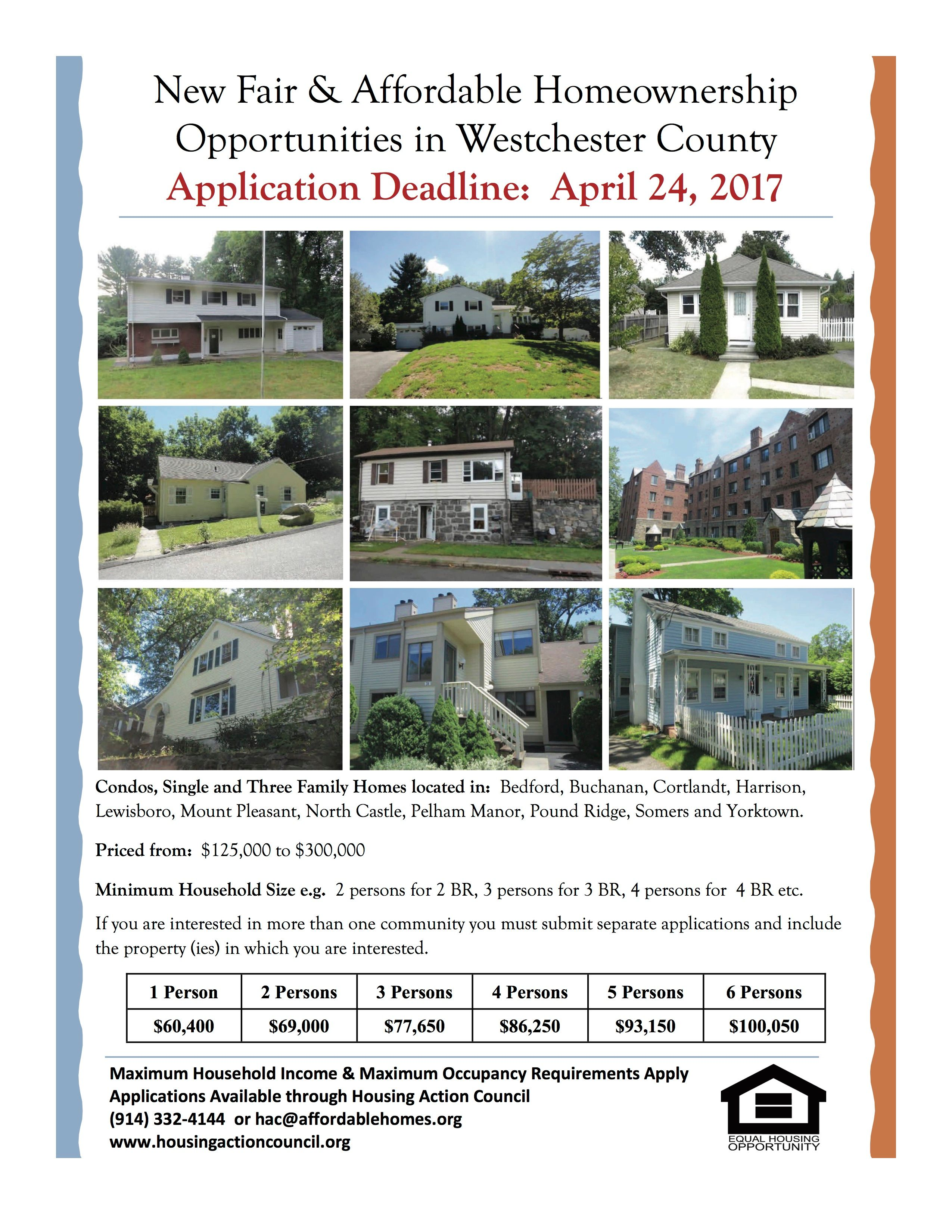 Affordable Homeownership Opportunities in Westchester