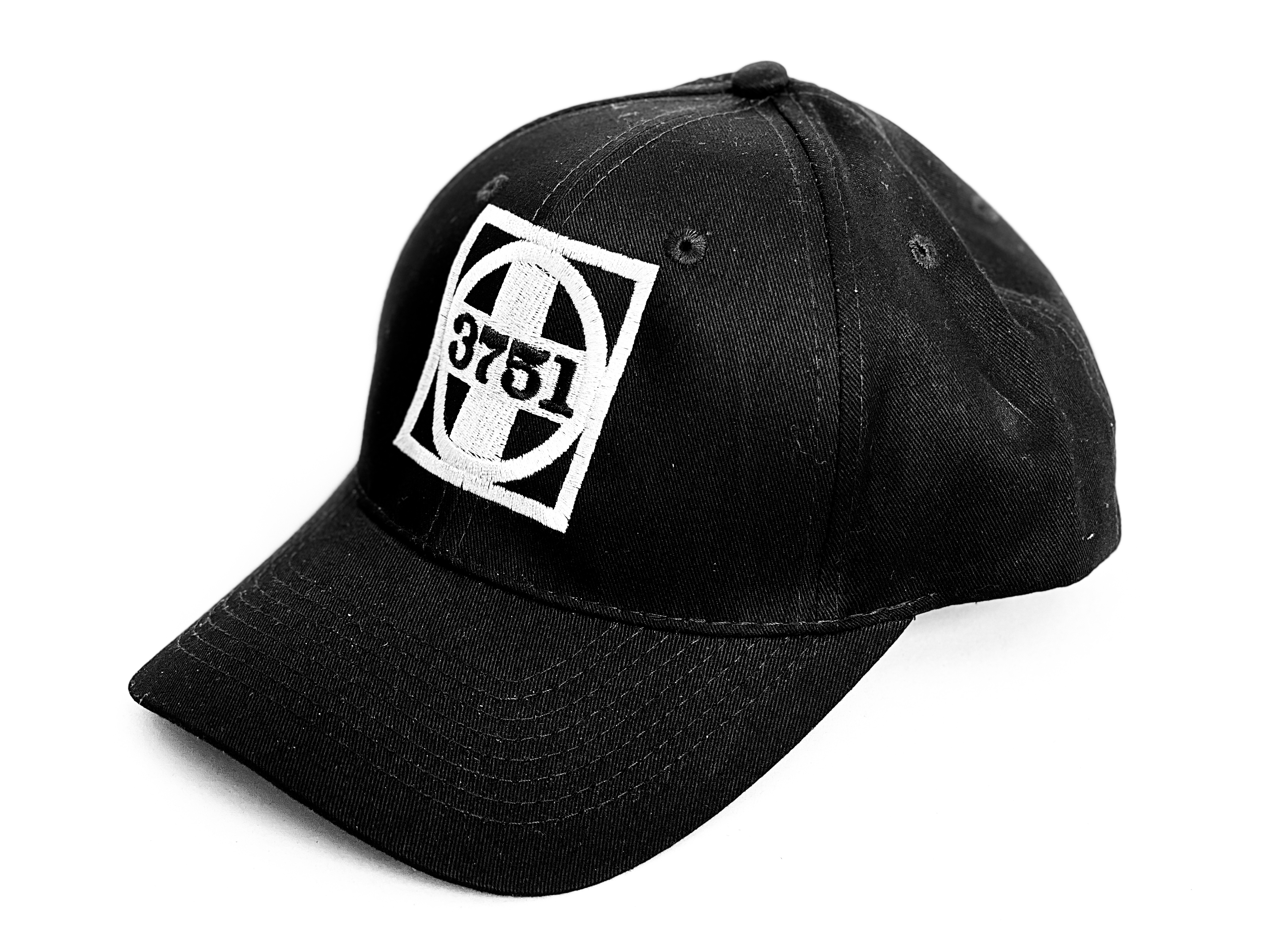 3751 Logo - Grey Herald / Black Hat