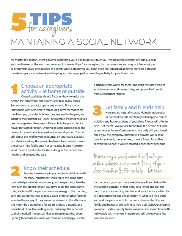 5 Tips for Maintaining a Social Network