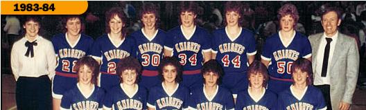 West Holmes HS Girls, 1983-84