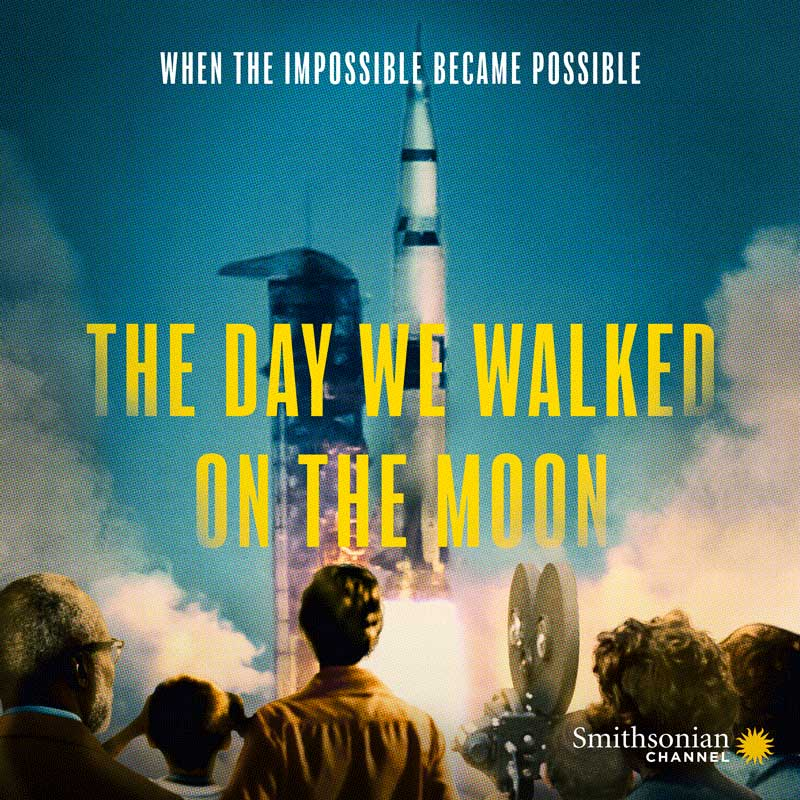 Smithsonian Channel Screening of The Day We Walked On The Moon with Q&A