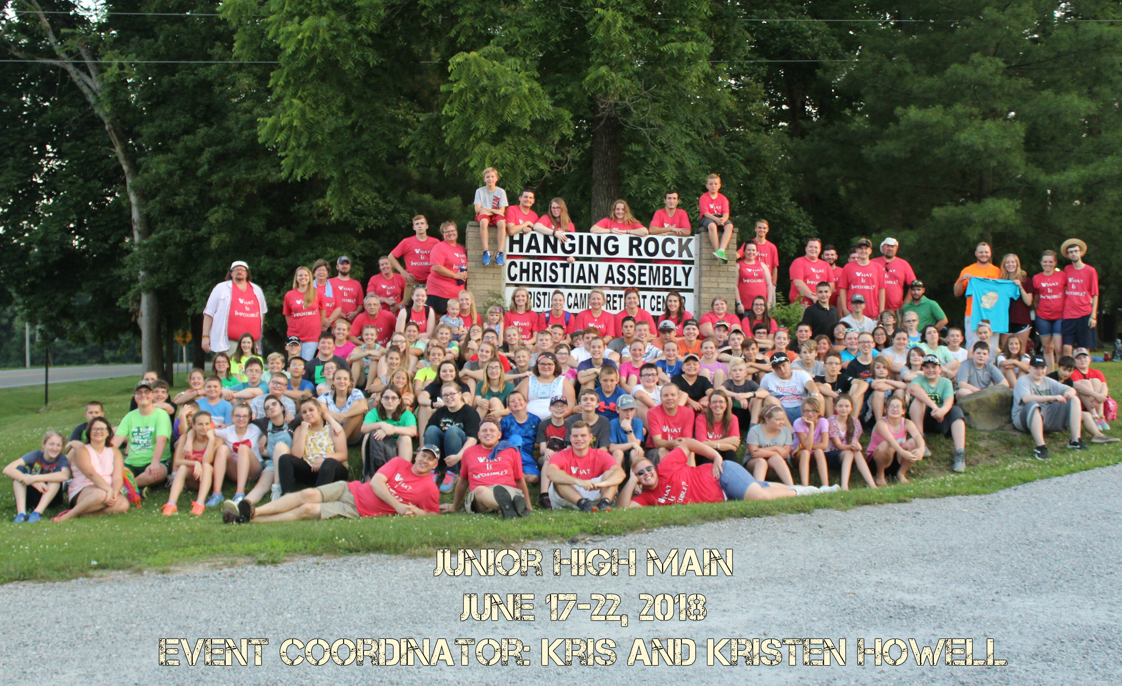 Junior High Main Camp