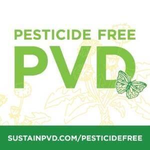 Pesticide Free PVD logo