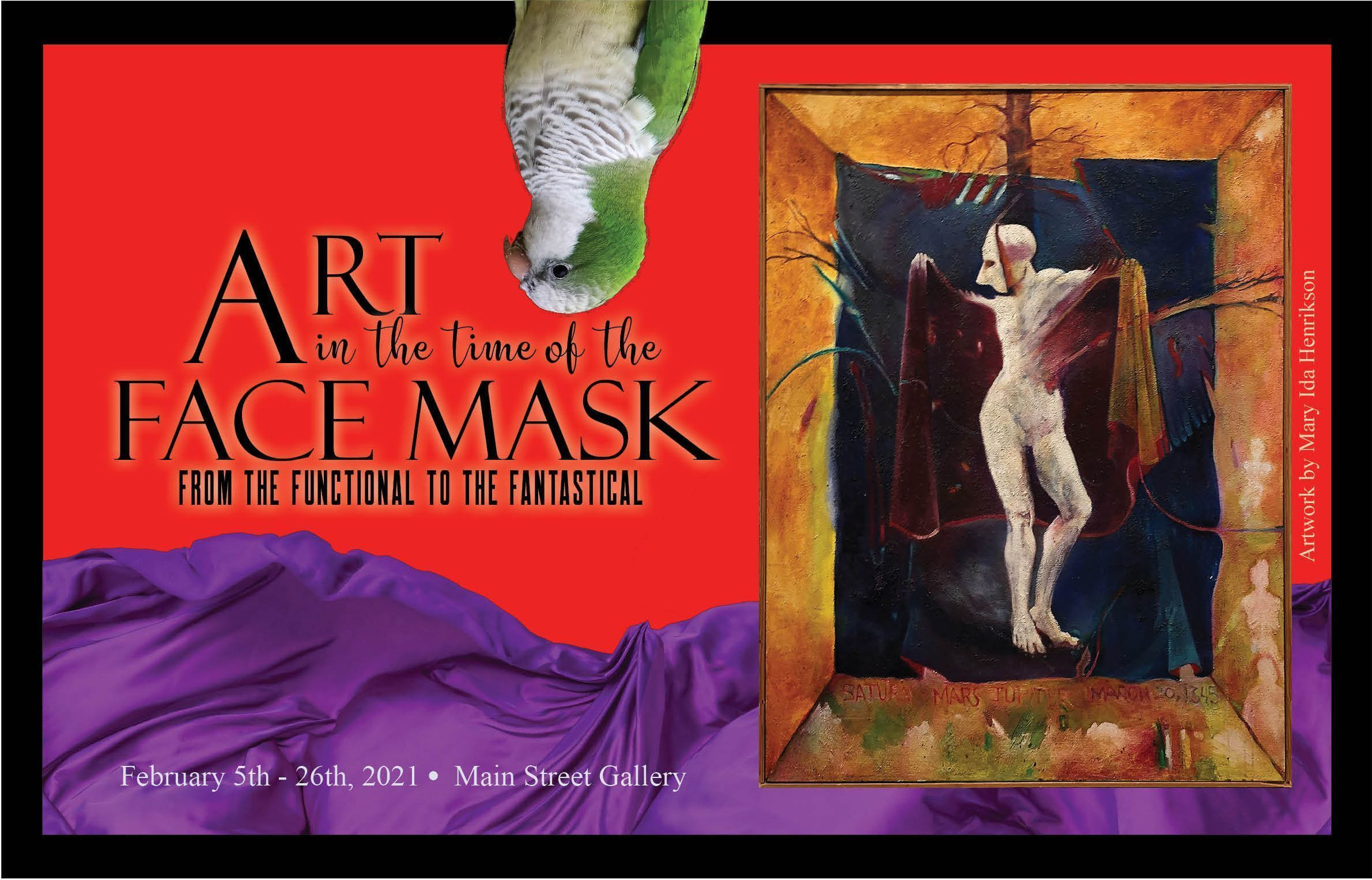 """Exhibit Opening """"Art in the Time of the Face Mask"""""""