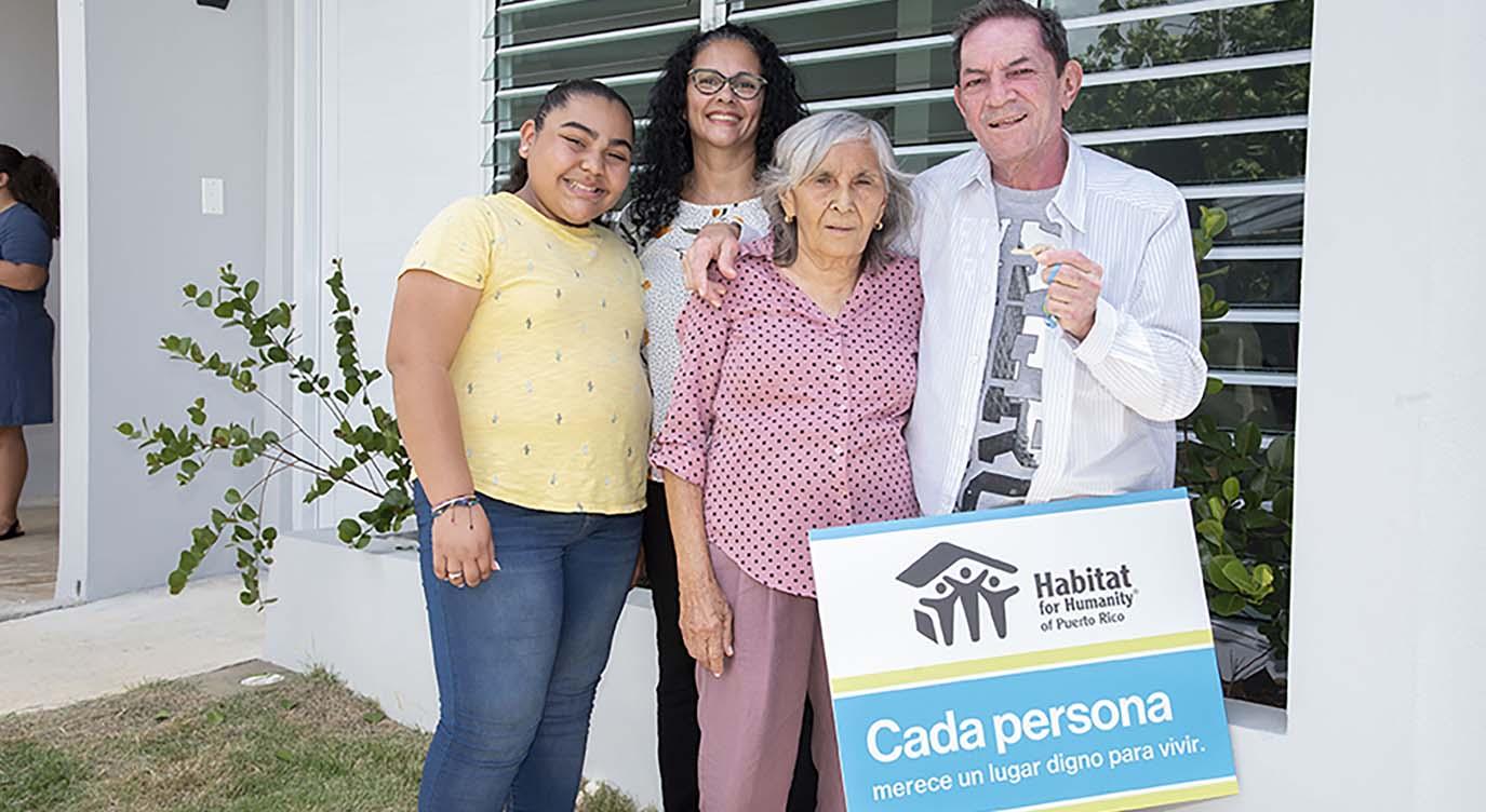 Each family deserves a decent place to live