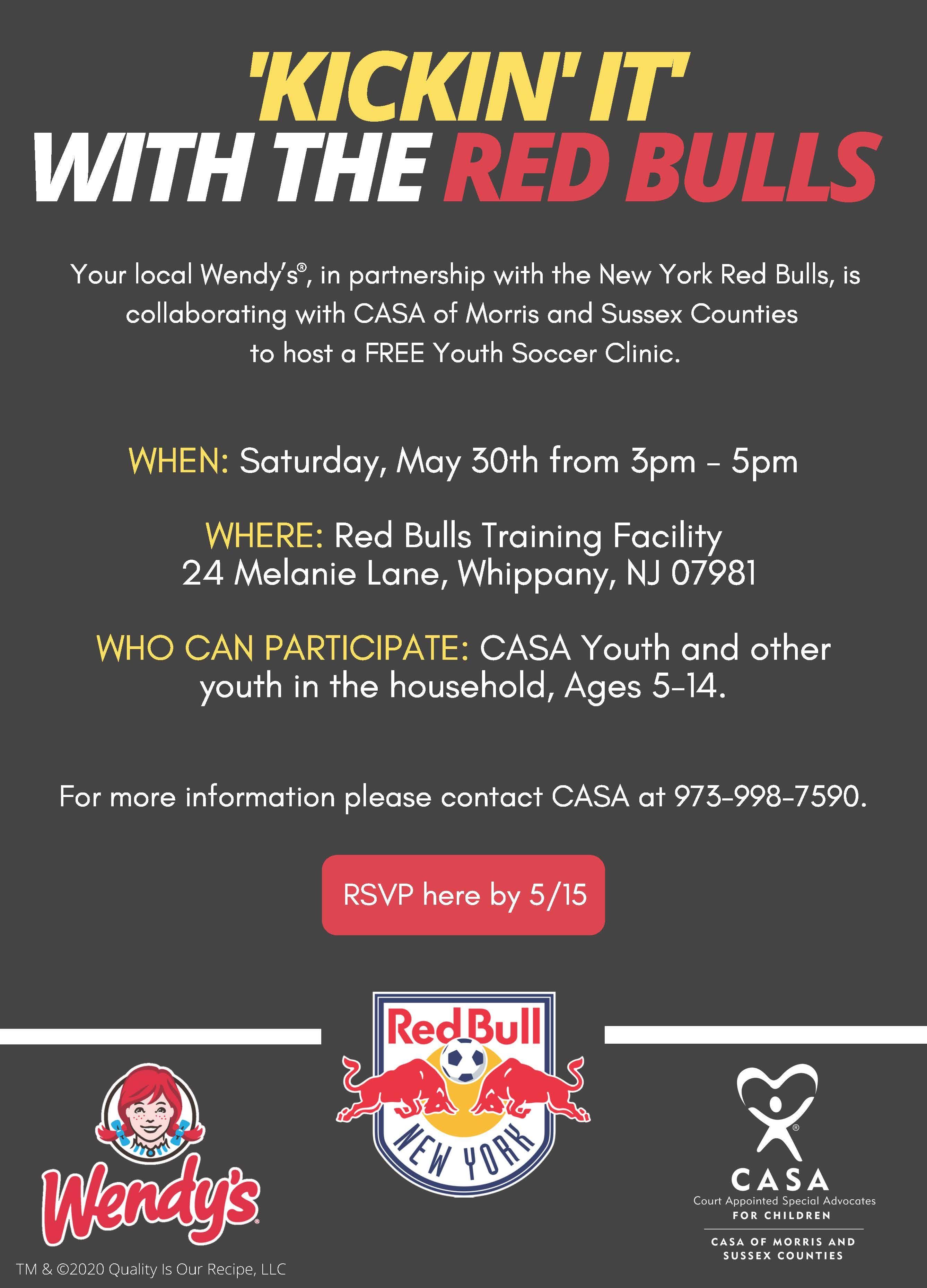 Red Bulls Soccer Clinic