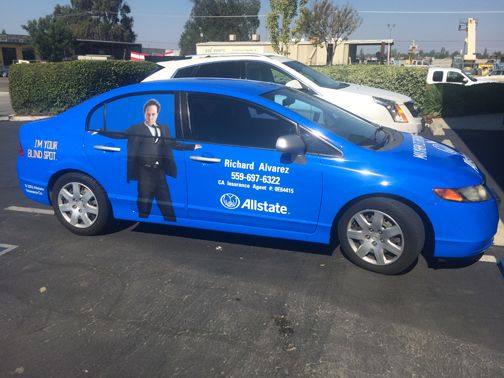 Vehicle Wrap: Allstate Mr Mayhem