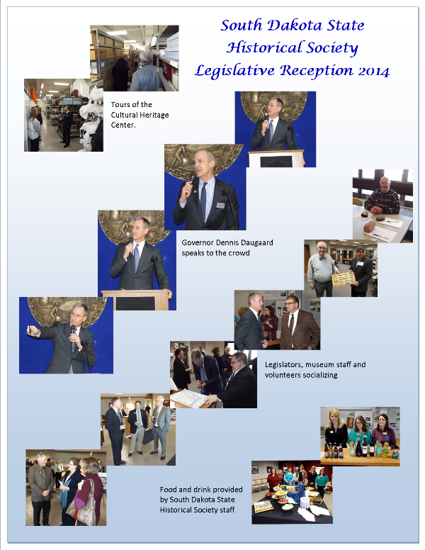 Members & Legislative Reception January 2014