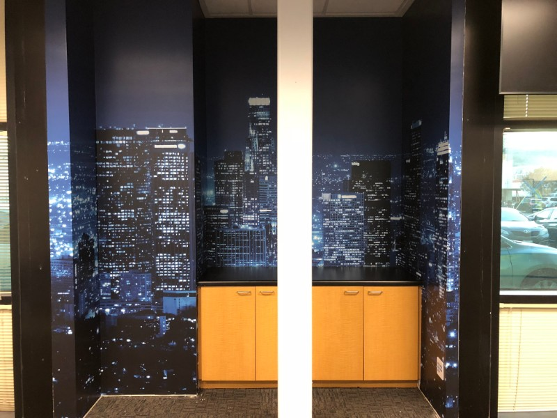 Vinyl Wall Wraps for Offices | Los Angeles | Orange County