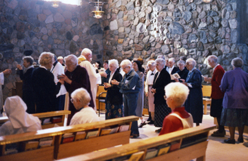 Sisters Celebrating Eucharist