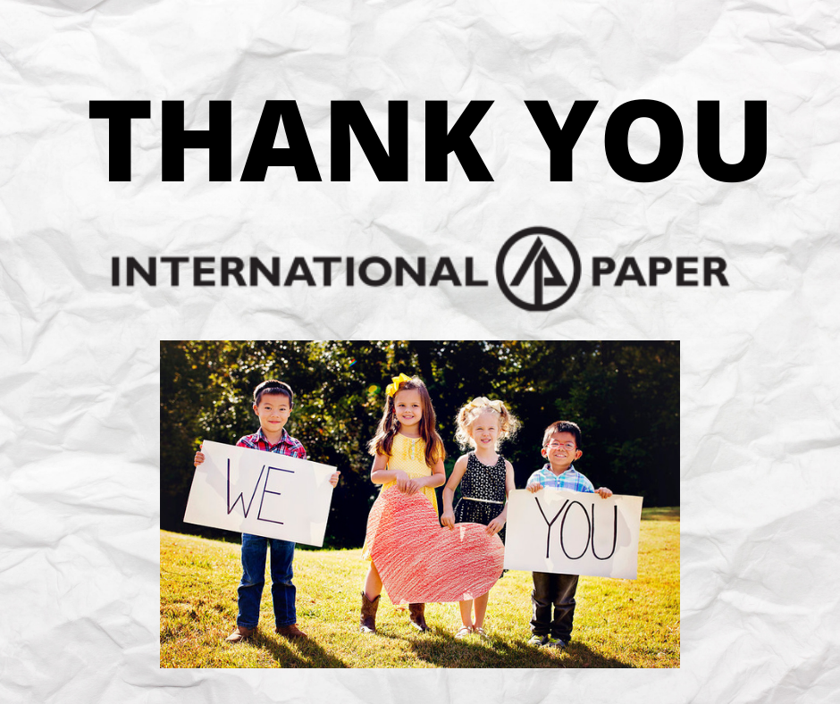 MOSD Receives Grant from International Paper