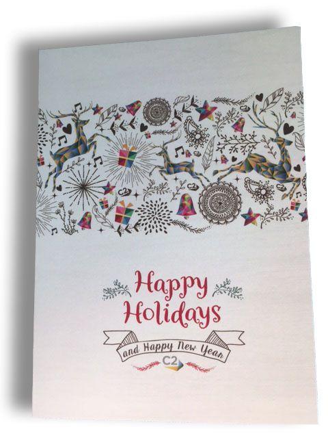 2017 Holiday Card Design