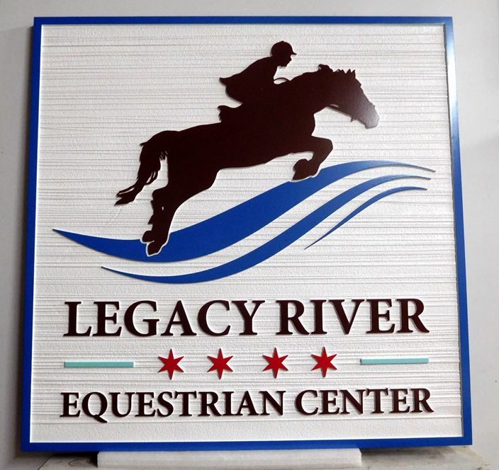 M1682 - Sign for the Legacy River Equestrian Center (Gallery 24)