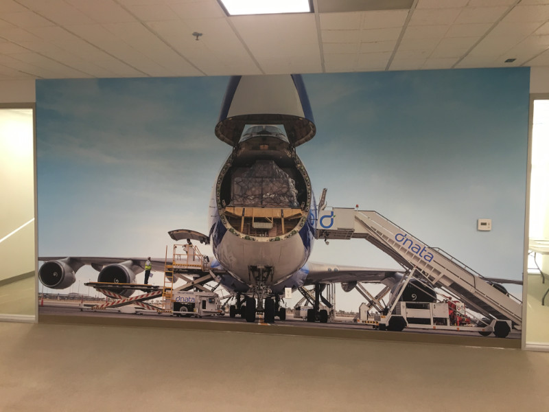 Office Wall Murals for Offices at LAX