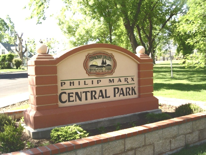 GA16402 - Monument Sign for Central Park for Recreational Park District