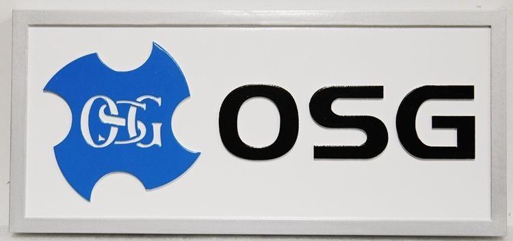 S28202 - Carved 2.5-D HDU  Sign for OSG