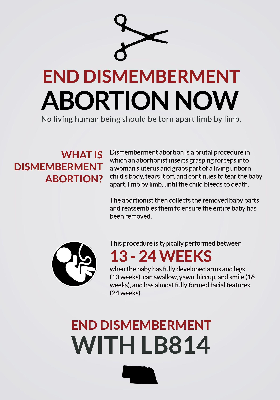 Ban Dismemberment Abortion